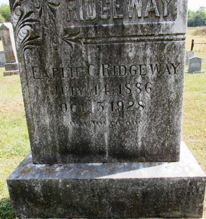 RIDGEWAY, EARLIE C. - Lawrence County, Tennessee | EARLIE C. RIDGEWAY - Tennessee Gravestone Photos