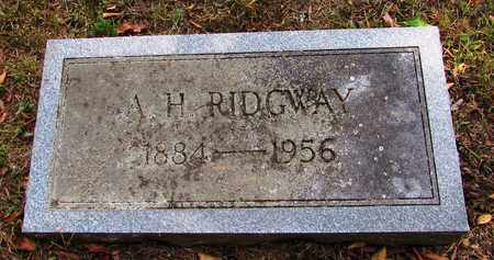 RIDGWAY, A. H. - Lawrence County, Tennessee | A. H. RIDGWAY - Tennessee Gravestone Photos