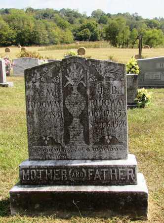 RIDGWAY, J. B. - Lawrence County, Tennessee | J. B. RIDGWAY - Tennessee Gravestone Photos
