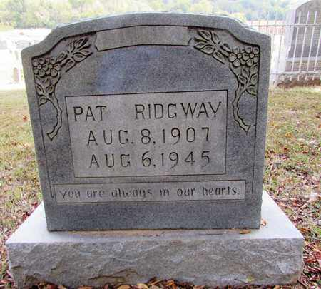 RIDGWAY, PAT - Lawrence County, Tennessee | PAT RIDGWAY - Tennessee Gravestone Photos