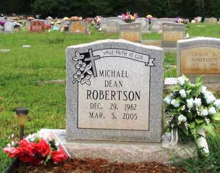 ROBERTSON, MICHAEL DEAN - Lawrence County, Tennessee | MICHAEL DEAN ROBERTSON - Tennessee Gravestone Photos