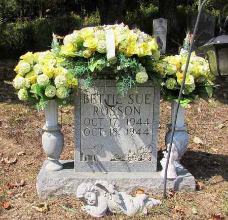 ROSSON, BETTIE SUE - Lawrence County, Tennessee | BETTIE SUE ROSSON - Tennessee Gravestone Photos