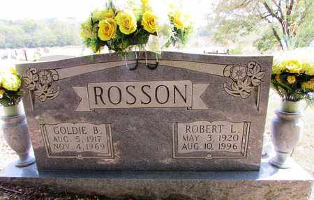 ROSSON, GOLDIE B. - Lawrence County, Tennessee | GOLDIE B. ROSSON - Tennessee Gravestone Photos