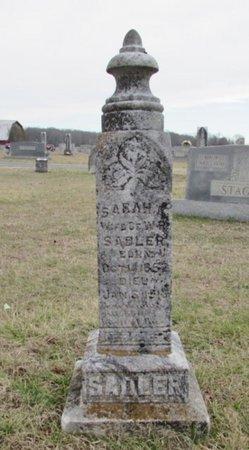 SADLER, SARAH A. - Lawrence County, Tennessee | SARAH A. SADLER - Tennessee Gravestone Photos