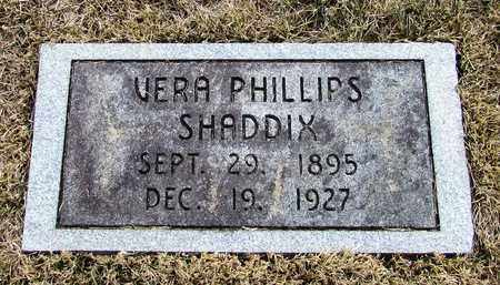 SHADDIX, VERA - Lawrence County, Tennessee | VERA SHADDIX - Tennessee Gravestone Photos