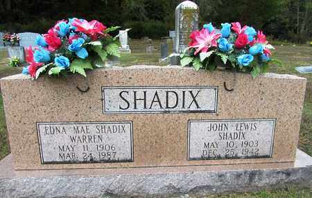 SHADIX, EDNA MAE - Lawrence County, Tennessee | EDNA MAE SHADIX - Tennessee Gravestone Photos