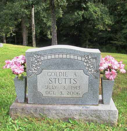 STUTTS, GOLDIE A. - Lawrence County, Tennessee | GOLDIE A. STUTTS - Tennessee Gravestone Photos