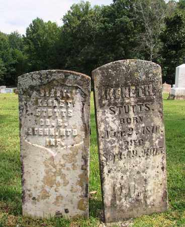 STUTTS  (VETERAN UNION), KENNETH - Lawrence County, Tennessee | KENNETH STUTTS  (VETERAN UNION) - Tennessee Gravestone Photos