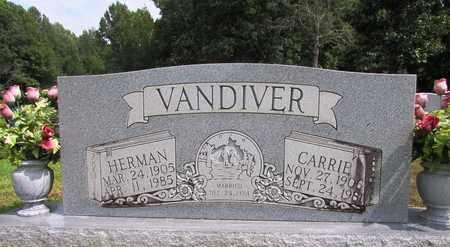 VANDIVER, HERMAN - Lawrence County, Tennessee | HERMAN VANDIVER - Tennessee Gravestone Photos