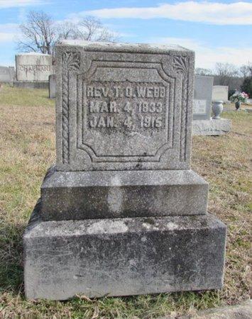 WEBB, THOMAS O. - Lawrence County, Tennessee | THOMAS O. WEBB - Tennessee Gravestone Photos