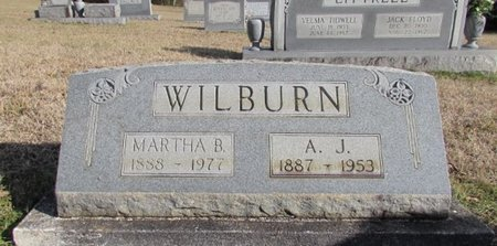 WILBURN, A. J. - Lawrence County, Tennessee | A. J. WILBURN - Tennessee Gravestone Photos
