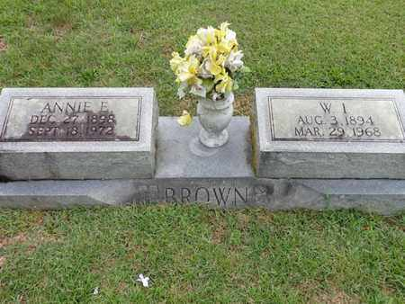 BROWN, W I - Lewis County, Tennessee | W I BROWN - Tennessee Gravestone Photos
