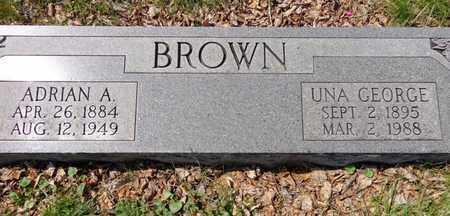 BROWN, UNA JANE - Lewis County, Tennessee | UNA JANE BROWN - Tennessee Gravestone Photos