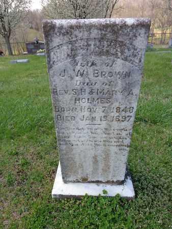 BROWN, ANNASTATIS MARTHA JANE - Lewis County, Tennessee   ANNASTATIS MARTHA JANE BROWN - Tennessee Gravestone Photos