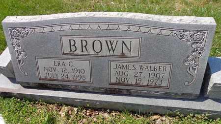 BROWN, JAMES WALKER - Lewis County, Tennessee | JAMES WALKER BROWN - Tennessee Gravestone Photos