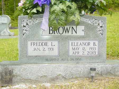 BROWN, ELEANOR B. - Lewis County, Tennessee | ELEANOR B. BROWN - Tennessee Gravestone Photos