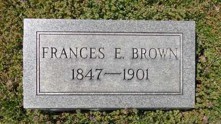 BROWN, FRANCES EMILY - Lewis County, Tennessee | FRANCES EMILY BROWN - Tennessee Gravestone Photos