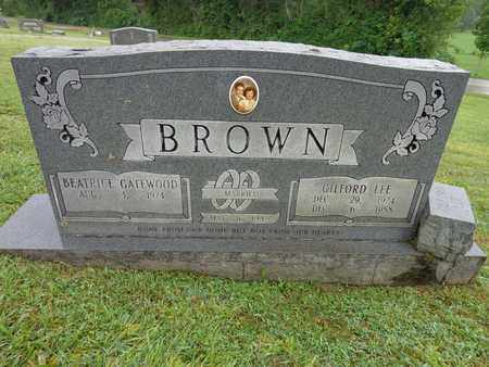 BROWN, GILFORD LEE - Lewis County, Tennessee | GILFORD LEE BROWN - Tennessee Gravestone Photos