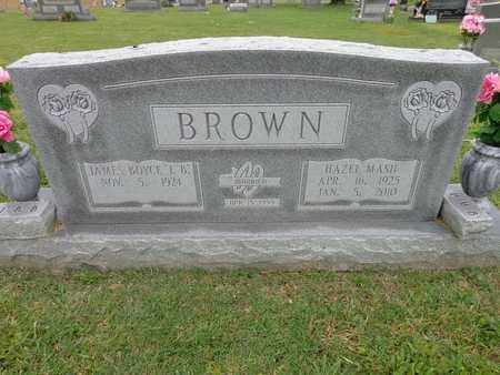 BROWN, HAZEL MASH - Lewis County, Tennessee | HAZEL MASH BROWN - Tennessee Gravestone Photos