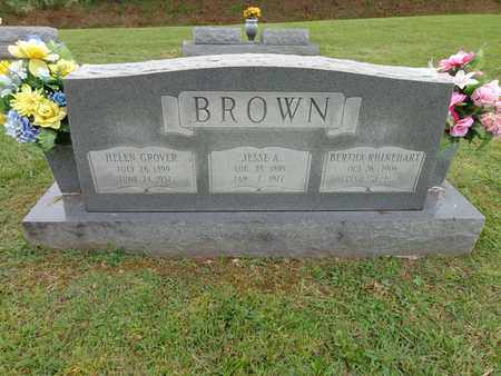 BROWN, HELEN GROVER - Lewis County, Tennessee | HELEN GROVER BROWN - Tennessee Gravestone Photos