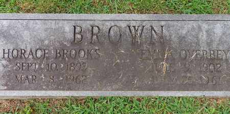 BROWN, HORACE BROOKS - Lewis County, Tennessee | HORACE BROOKS BROWN - Tennessee Gravestone Photos