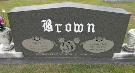 BROWN, BESSIE MAI - Lewis County, Tennessee | BESSIE MAI BROWN - Tennessee Gravestone Photos