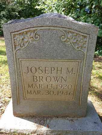 BROWN, JOSEPH M - Lewis County, Tennessee | JOSEPH M BROWN - Tennessee Gravestone Photos