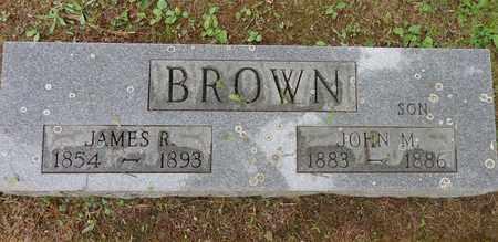 BROWN, JOHN M - Lewis County, Tennessee | JOHN M BROWN - Tennessee Gravestone Photos