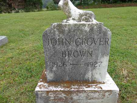 BROWN, JOHN GROVER - Lewis County, Tennessee | JOHN GROVER BROWN - Tennessee Gravestone Photos