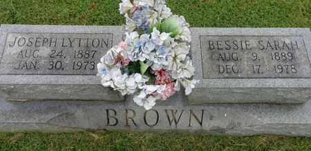 BROWN, BESSIE SARAH - Lewis County, Tennessee | BESSIE SARAH BROWN - Tennessee Gravestone Photos