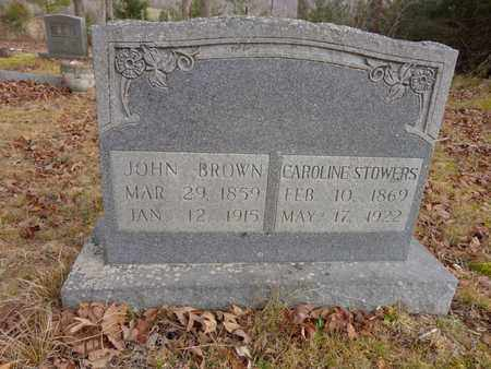 BROWN, JOHN - Lewis County, Tennessee | JOHN BROWN - Tennessee Gravestone Photos