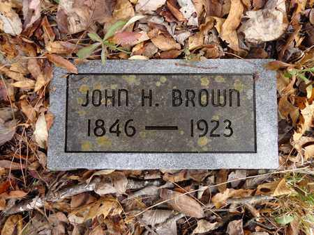 BROWN, JOHN H - Lewis County, Tennessee | JOHN H BROWN - Tennessee Gravestone Photos