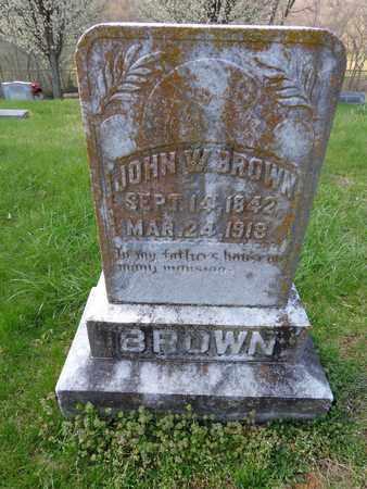 BROWN, JOHN WESLEY - Lewis County, Tennessee | JOHN WESLEY BROWN - Tennessee Gravestone Photos