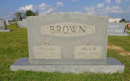 BROWN, LEEANNA - Lewis County, Tennessee | LEEANNA BROWN - Tennessee Gravestone Photos