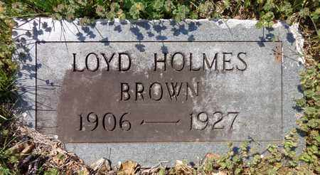 BROWN, LOYD HOLMES - Lewis County, Tennessee | LOYD HOLMES BROWN - Tennessee Gravestone Photos