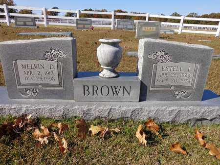 BROWN, ESTELL I - Lewis County, Tennessee | ESTELL I BROWN - Tennessee Gravestone Photos