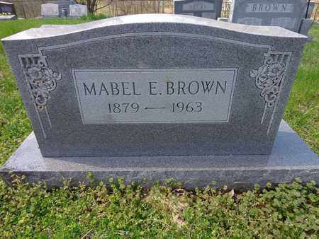 BROWN, MABEL ETHYL - Lewis County, Tennessee | MABEL ETHYL BROWN - Tennessee Gravestone Photos