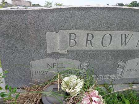 BROWN, NELL - Lewis County, Tennessee | NELL BROWN - Tennessee Gravestone Photos