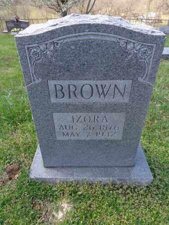 BROWN, NAOMI IZORA - Lewis County, Tennessee | NAOMI IZORA BROWN - Tennessee Gravestone Photos
