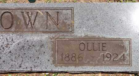 BROWN, OLLIE - Lewis County, Tennessee | OLLIE BROWN - Tennessee Gravestone Photos