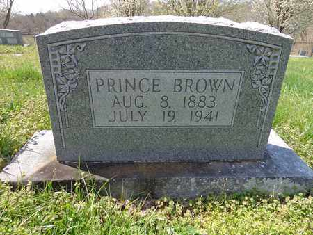BROWN, PRINCE OAKLEY - Lewis County, Tennessee | PRINCE OAKLEY BROWN - Tennessee Gravestone Photos