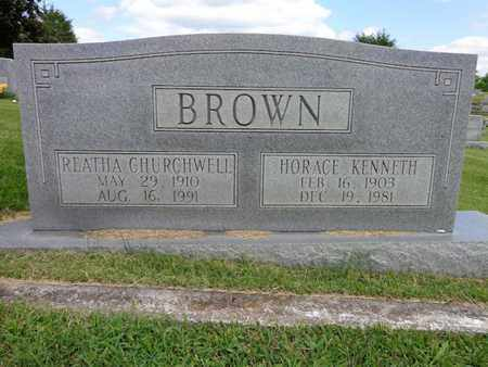 BROWN, HORACE KENNETH - Lewis County, Tennessee | HORACE KENNETH BROWN - Tennessee Gravestone Photos