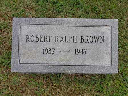 BROWN, ROBERT RALPH - Lewis County, Tennessee   ROBERT RALPH BROWN - Tennessee Gravestone Photos
