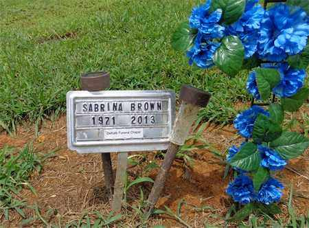 BROWN, SABRINA - Lewis County, Tennessee | SABRINA BROWN - Tennessee Gravestone Photos