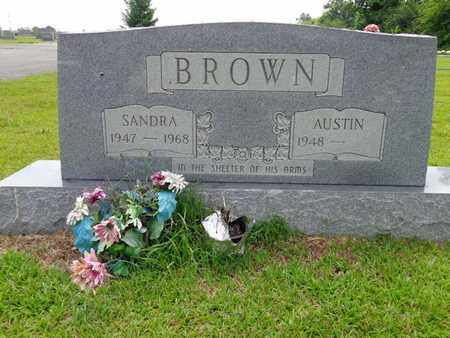 BROWN, SANDRA - Lewis County, Tennessee | SANDRA BROWN - Tennessee Gravestone Photos