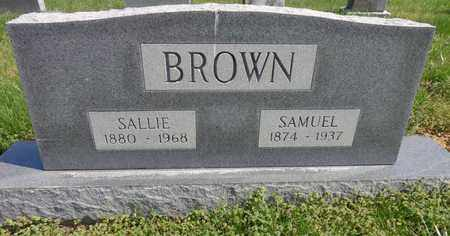 BROWN, WILLIAM SAMUEL - Lewis County, Tennessee | WILLIAM SAMUEL BROWN - Tennessee Gravestone Photos