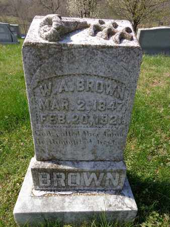 BROWN, WILLIAM ARCHIBALD - Lewis County, Tennessee | WILLIAM ARCHIBALD BROWN - Tennessee Gravestone Photos