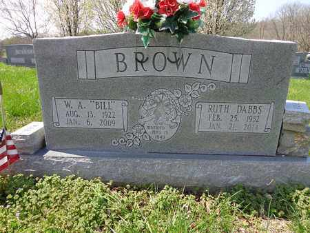 "BROWN, WILLIAM ARCHIBALD ""BILL"" - Lewis County, Tennessee 