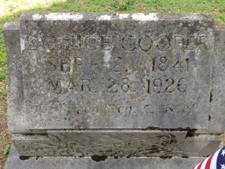 COOPER, BRUCE - Lewis County, Tennessee | BRUCE COOPER - Tennessee Gravestone Photos
