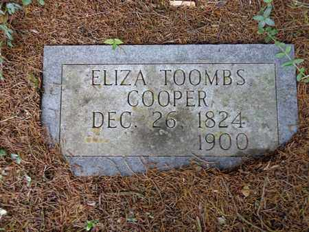COOPER, ELIZA - Lewis County, Tennessee | ELIZA COOPER - Tennessee Gravestone Photos